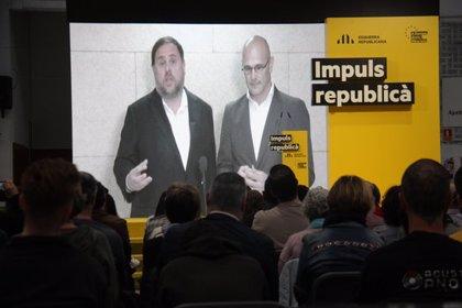 """Junqueras retreu als de la """"cortesia parlamentària"""" que posin """"pals a les rodes"""" als independentistes i demana guanyar-los"""