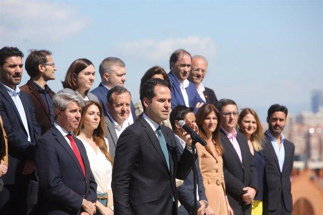 VÍDEO: 26M.- Cs compromete a eliminar los aforamientos en la Comunidad de Madrid en los primeros cien días de gobierno