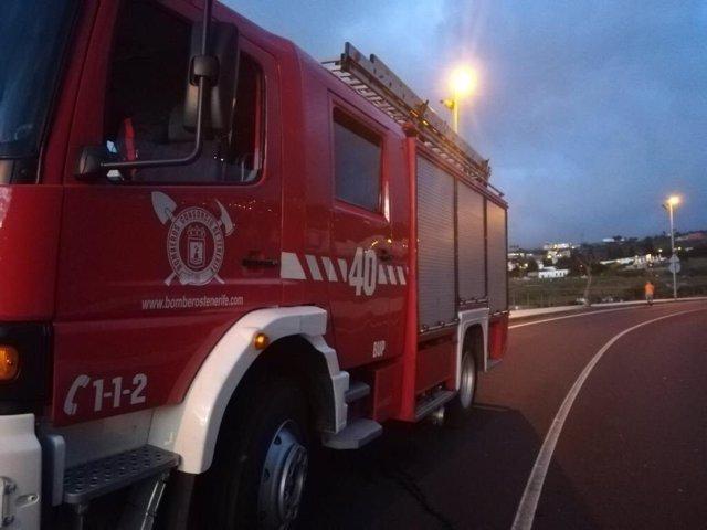 Sucesos.- Dos heridos en el incendio de una vivienda en Santiago del Teide (Tenerife)