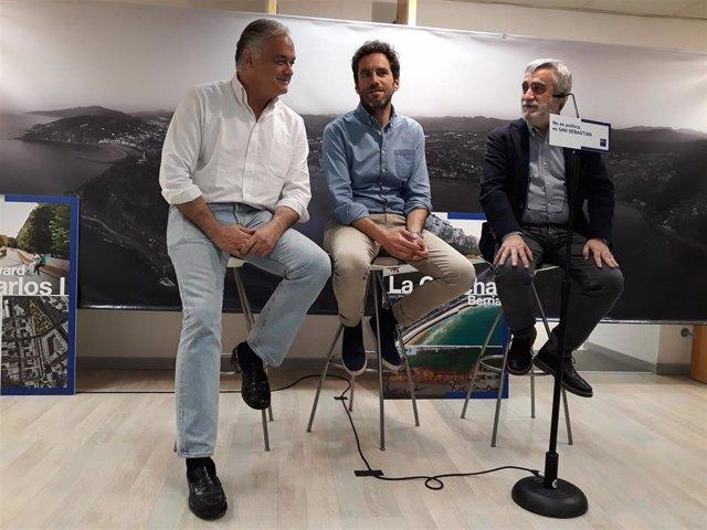 26M.- González Pons Anuncia Que San Sebastián Acogerá Del 11 Al 14 De Junio La Reunión Del Grupo Popular Europeo