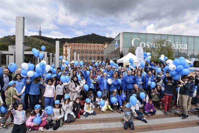 Más de 5.000 niños en situación de vulnerabilidad participan en el Día del Voluntario de La Caixa