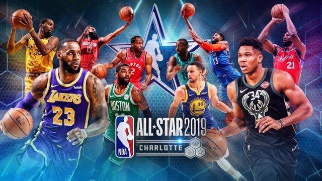Cartel del All Star 2019 de la NBA