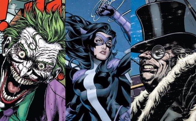 Serán Estos Los Villanos Del Batman De Robert Pattinson