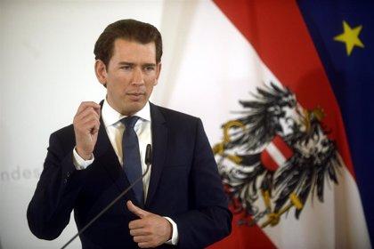El canciller de Austria anuncia la convocatoria de elecciones anticipadas
