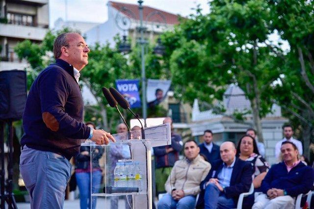 """26M.- Monago Asegura Que La Promotora Del Proyecto Elisyum City No Ha Presentado Ningún Aval """"Porque No Tienen Un Chavo"""""""