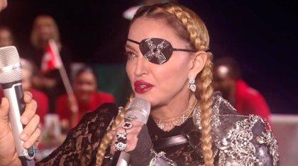 """Madonna arrasa con su look pirata en Eurovisión: """"¡Es el capitán Jack Sparrow!"""""""