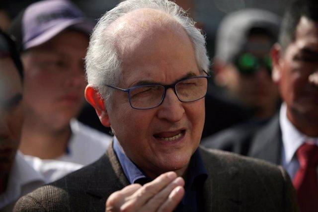 Venezuela.- Ledezma urge a Guaidó a invocar el principio de intervención humanitaria para Venezuela