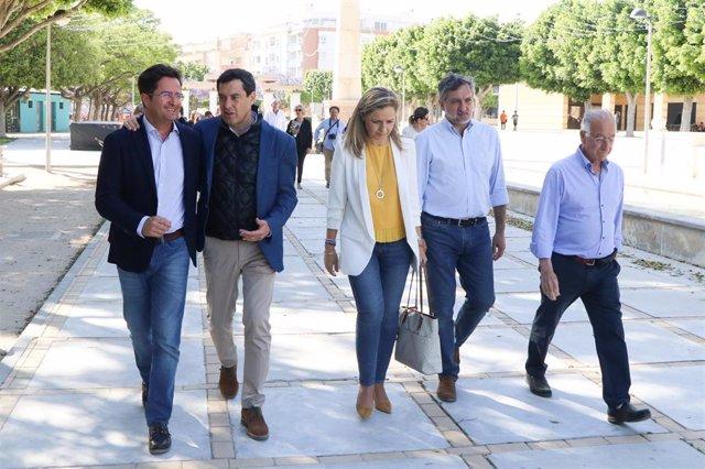 """Almería.-26M.- Moreno cree que """"lo mejor para El Ejido está por llegar"""" por la ventaja del PP en el Ayuntamiento y Junta"""