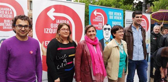"""26M.- Izquierda-Ezkerra se presenta como """"garantía del cambio"""" con un proyecto """"de izquierda no nacionalista"""""""