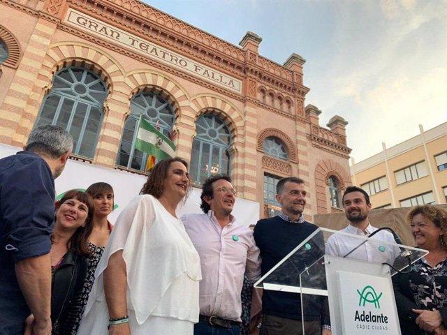 26M.- Podemos E IU Concurren Bajo La Marca 'Adelante' En 237 Municipios Andaluces, Ninguno En La Provincia De Córdoba