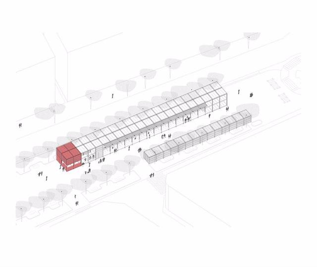 FINDE Los proyectos finalistas del concurso para el diseño de la nueva Tómbola de Cáritas, expuestos en Itaroa