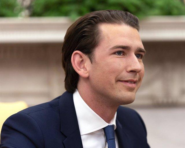 Trump meets Kurz of Austria