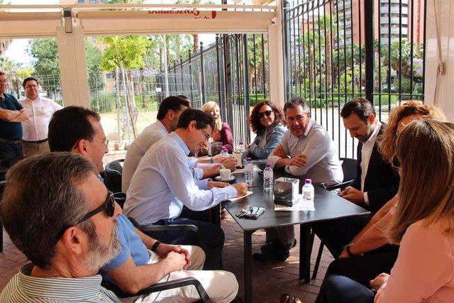 Sevilla.- 26M.- Espadas anuncia un proceso participativo para definir los usos del anfiteatro de Jardines de Hércules