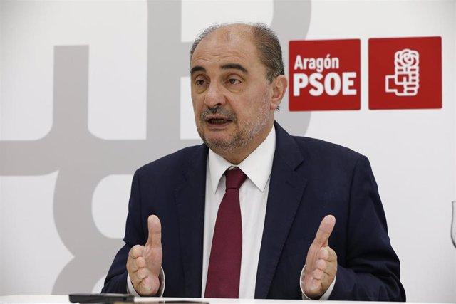 """26M.- Lambán (PSOE): """"Aragón Está En Disposición De Atenuar, De Manera Sustancial, Los Efectos De La Desaceleración"""""""
