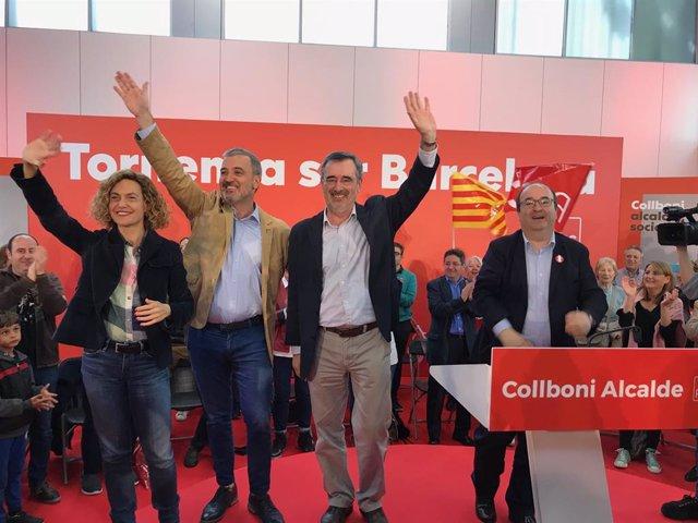 """Av.- 26M.- Iceta creu que el """"sectarisme"""" independentista no ha pogut vetar el projecte socialista"""
