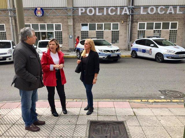 26M-M.- Avilés.- Llamazares (PP) Se Compromete A Construir Una Nueva Comisaría Para La Policía Municipal