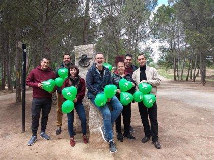 """Rubén Antoñanzas (PR+) persigue """"una ciudad más verde que cuide y amplíe su conjunto de parques"""""""