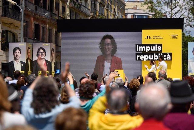"""26M.- Marta Rovira: El PSOE Ha Perdut """"La Noció Del Diàleg Perquè Li Fa por La Democràcia"""""""