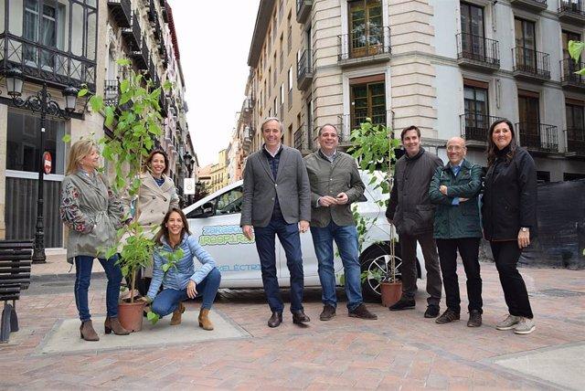 26M.- Azcón (PP) Anuncia Que El Mantenimiento Del Arbolado Urbano Será Una De Sus Prioridades