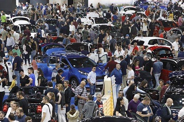 Fira.- Casi la mitad de los visitantes del Automobile tiene intención de comprar un coche