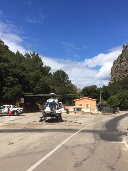Evacuado un bebé de 19 meses al caer de una altura de siete metros en Sa Calobra