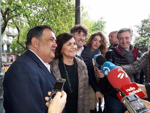 """26M.- Calvo dice que el día 26 hay que """"rematar la pacífica revolución de la política española"""" iniciada por el PSOE"""