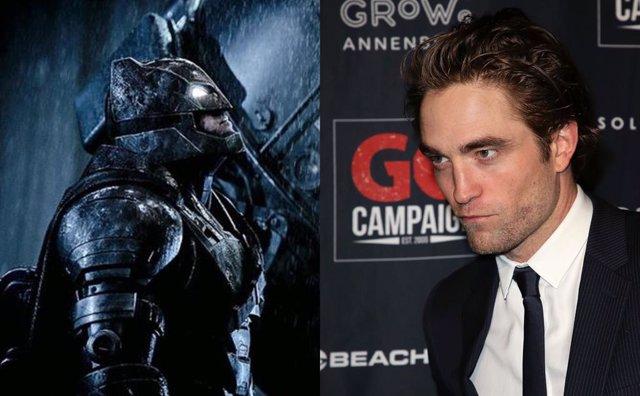 Así sería Robert Pattinson como el nuevo Batman
