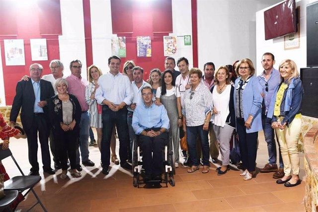 """Córdoba.- 26M.- Bellido se compromete a ofrecer servicios básicos a las parcelaciones """"tras la modificación de la LOUA"""""""