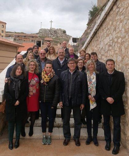 Aliaga (PAR) indica en Andorra que velará por el futuro de los pueblos mineros