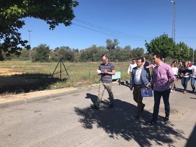 """Jaén.-26M.- Millán afirma que Puente Tablas es """"ejemplo de libro"""" de la """"urgente recuperación de los servicios públicos"""""""