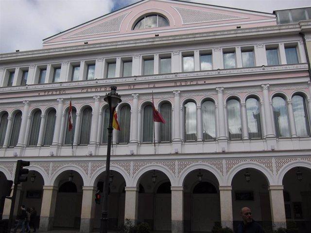 Fachada Del Teatro Calderón de Valladolid