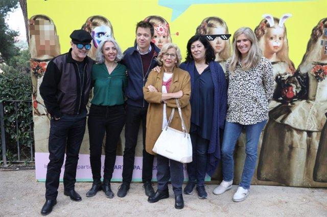 26M.- Auserón, Almudena Grandes, Bob Pop O Dos Ganadores Del Goya Muestran Su Apoyo A La Política Cultural De Más Madrid