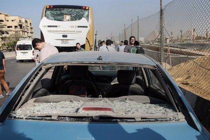Al menos 17 heridos por una bomba contra un autobús turístico en el Gran Museo Egipcio de Giza
