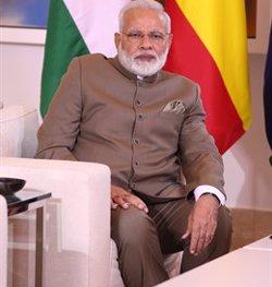 Els sondejos a peu d'urna a l'Índia pronostiquen una clara victòria de la coalició del primer ministre Modi (EUROPA PRESS - Archivo)