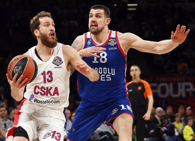 Baloncesto/Final Four.- Crónica del Anadolu Efes - CSKA Moscú