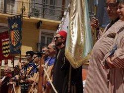 Lleida torna a ser 'Medina Larida' després de la victòria del bàndol moro en la batalla de la Festa de Moros i Cristians (ACN)