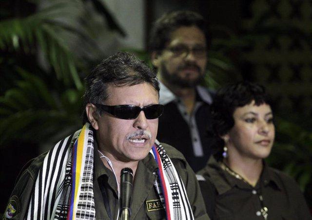 El negociador de las Fuerzas Armadas Revolucionarias de Colombia Jesús Santrich