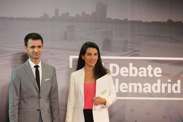 Debate de los candidatos a presidir la Comunidad de Madrid de PP, PSOE, Ciudadanos, Unidas Podemos y Vox en Telemadrid