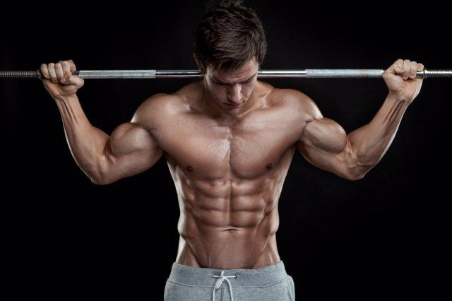Musculación, ejercicio, músculos, gimnasio, pesas