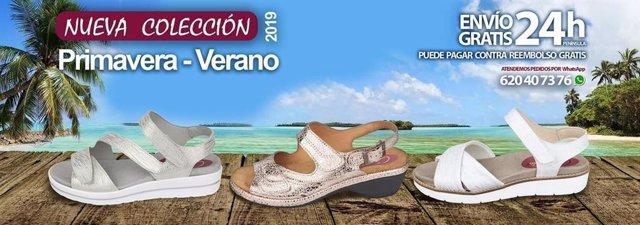 8e4a80fb Nueva temporada primavera verano Cari Falcó, zapatos para plantillas y  anchos especiales
