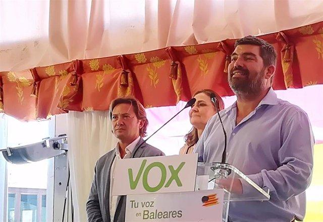 """Vox defiende que la Diada de Mallorca sea el 12 de septiembre y promete """"despolitizar"""" las fiestas populares"""