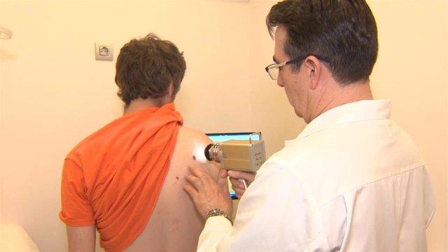 Pruebas para detectar el cáncer de piel