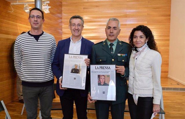 Miguel Ángel Sáenz y Javier Labrador reciben el premio 'Gran Reserva' y 'Fuera de Denominación 2019'
