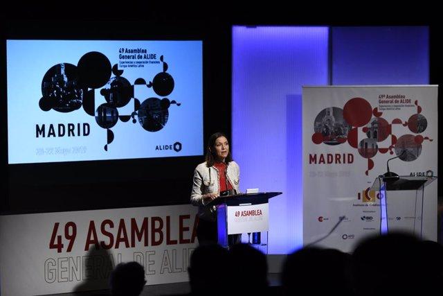 Inauguración de la 49 Asamblea General de la Asociación Latinoamericana de Instituciones Financieras para el Desarrollo (ALIDE) en Casa América