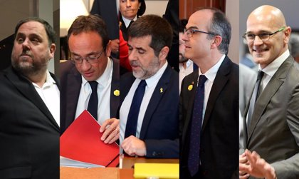 El Supremo deja en manos de las Cortes la suspensión de los presos electos