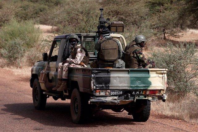 Malí.- Mueren siete personas en un ataque contra una localidad de Malí situada cerca de la frontera con Burkina Faso
