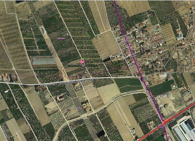 Sucesos.- Un hombre fallece al volcar el tractor que conducía en Santomera