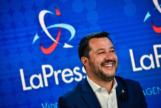 Italian Interior Minister Matteo Salvin interview