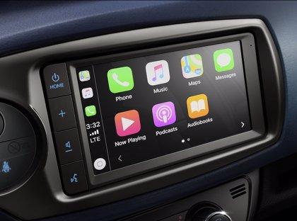Toyota España actualiza la gama del Yaris con Apple CarPlay y Android Auto