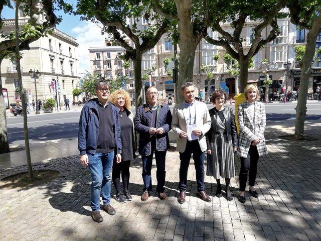26M.- El PP Convertirá La Glorieta Del Doctor Zubía En 'Kilómetro 0' De Logroño Con Itinerarios Peatonales Y Ciclistas